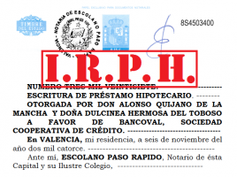 Hipoteca IRPH indice iberico