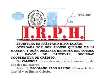 Hipoteca IRPH