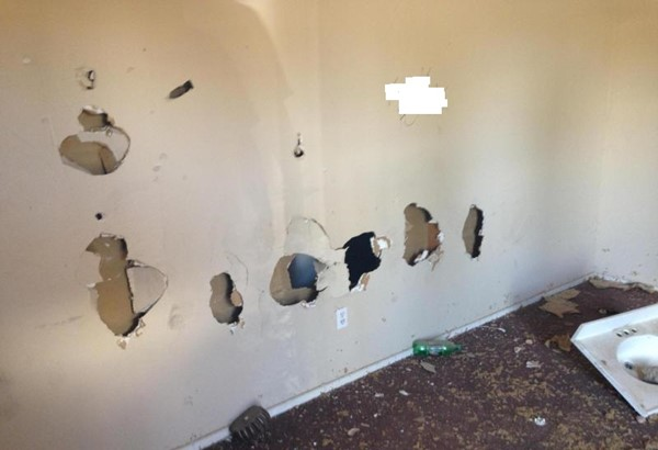 inquilino destroza casa